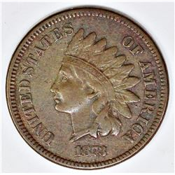 1873 OPEN 3 INDIAN CENT