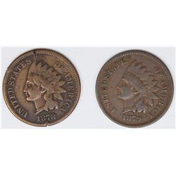 TWO INDIAN CENTS: