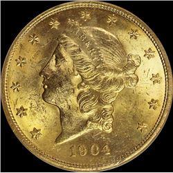 1904 $20.00 GOLD LIBERTY
