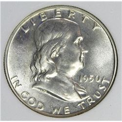 1950 FRANKLIN HALF DOLLAR