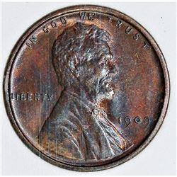 1909 VDB LINCOLN CENT