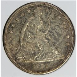 1859-O SEATED DOLLAR
