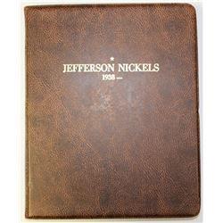 COMPLETE SET JEFFERSON NICKELS 1938-2016