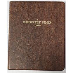 COMPLETE SET ROOSEVELT DIMES 1946-2016