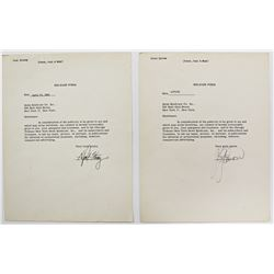 PETER PAUL AND MARY SIGNED DOCUMENTS