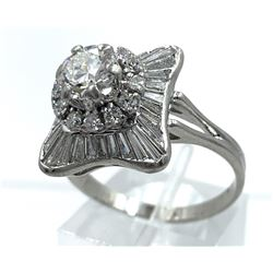 PLATINUM BALLERINA RING
