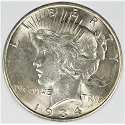 1934-D PEACE DOLLAR