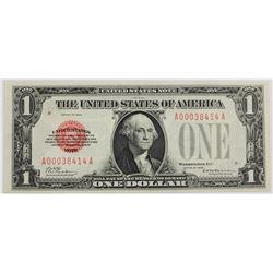 1928 $1.00 UNITED STATES RARE NOTE