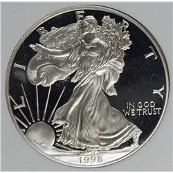 1998 AMERICAN SILVER EAGLE