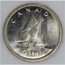 1955 CANADA DIME RARE!