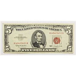 (10)1963  $5.00 RED SEALS