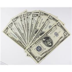 $5.00 SILVER CERTIFICATES