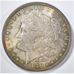 1879 MORGAN DOLLAR CH BU GREAT COLOR