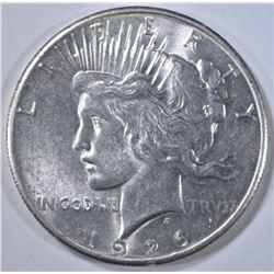 1926 PEACE DOLLAR, AU/BU