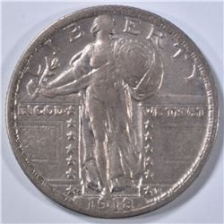1918-S STANDING LIBERTY QUARTER  XF
