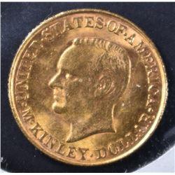 1917 MCKINLEY GOLD DOLLAR   BU