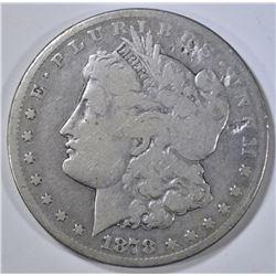 1878-CC MORGAN DOLLAR   AG/G  DAMAGED