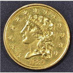 1834 $2.5 GOLD CLASSIC HEAD