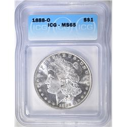 1888-O MORGAN DOLLAR  ICG MS-65  APPEARS PROOF LIK