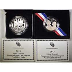 2-2013 5-STAR GENERALS COINS