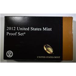 2012 U.S. CLAD PROOF SET