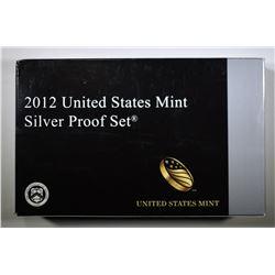 2012 U.S. SILVER PROOF SET