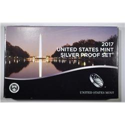 2017 U.S. SILVER PROOF SET