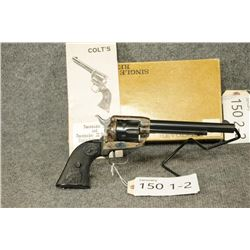 RESTRICTED. Colt Peacemaker Buntline