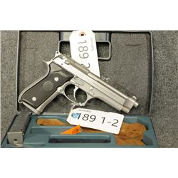 RESTRICTED Stainless Beretta 91FS