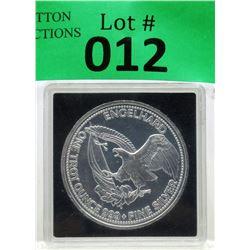 1 Oz. 999 Fine Silver 1985 Engelhard Round