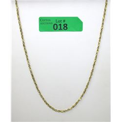 "15.15 Gram 14 KT Gold Ladies Vintage 24"" Necklace"