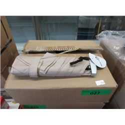 Case of 12 New Beige Compact Umbrellas