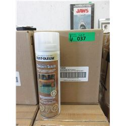 6 Cases of Rust-Oleum Concrete Sealer -Matte Clear