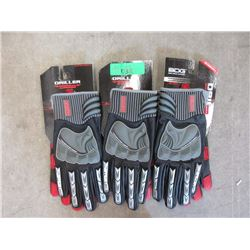 3 Pairs of Quality BDG Gloves