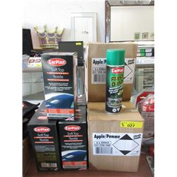 8 Cases of Automotive Detailing Products