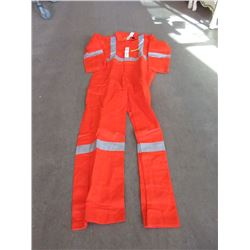 New Reflective Coveralls - 42 Tall