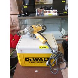 "1/2"" Drive Electric Drill & Mini Cooler - DeWalt"