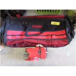 New Craftsman Bag & Swivel Vice