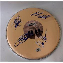 Signed 3 Doors Down - Drumhead
