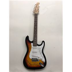 Signed U2 - Sunburst Guitar