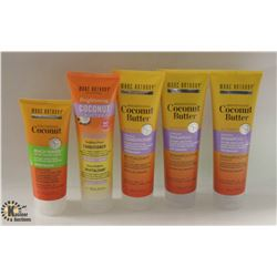 5 BOTTLES OF MARC ANTHONY HAIR PRODUCTS INCL.