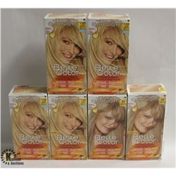 6 BOXES OF ASSORTED COLOR GARNIER COLOR EASE