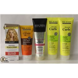 BAG OF ASSORTED MARC ANTHONY HAIR PRODUCTS INCL.