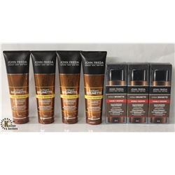 BAG OF ASSORTED JOHN FRIEDA HAIR PRODUCTS INCL.