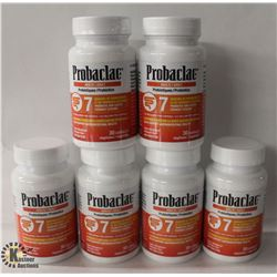 6 BOTTLES OF PROBACLAC ADULT PROBIOTICS