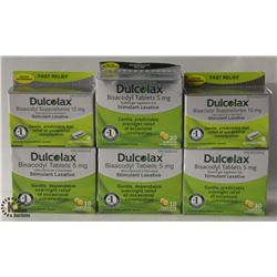 6 BOXES OF DULCOLAX STIMULANT LAXATIVE