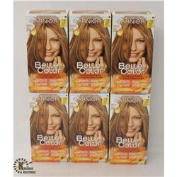 6 BOXES OF GARNIER DARK GOLDEN BLONDE COLOR EASE