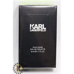 KARL LAGERFELD MENS EAU DE TOILETTE 1.7 FLOZ 50ML.
