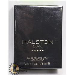 HALSTON MAN AMBER 2.5 FLOZ 75ML EAU DE TOILETTE