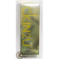 CKIN2U CALVIN KLEIN 3.4 FL OZ 100ML FOR HER.
